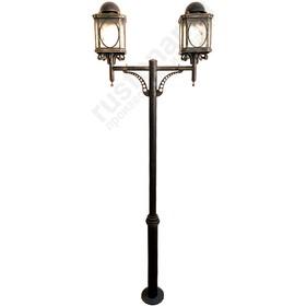 Уличный наземный светильник с 2 лампами Трианон 400-51/bg-14