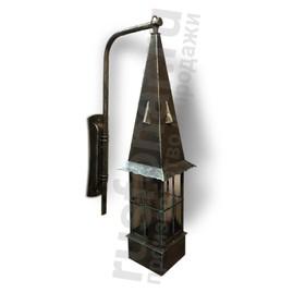Уличный настенный светильник бра Рувиано 250-13/bbg-15