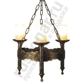 Уличный подвесной светильник люстра Амелия 240-93/brg-10