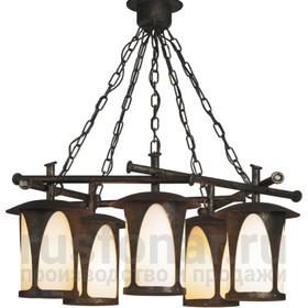 Уличный подвесной светильник люстра Борнео 160-95/bg-02