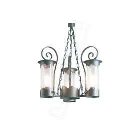 Уличный подвесной светильник люстра Лион 210-93/bc-06