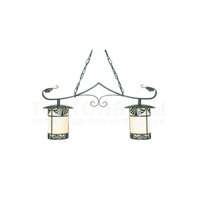 Уличный подвесной светильник люстра Марсель 230-02/bg-02