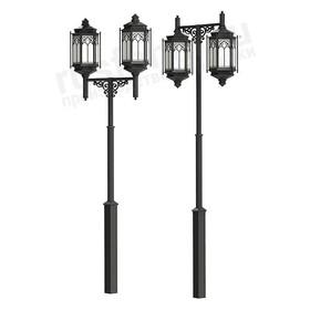Парковый фонарь с 2 лампами Palazzo 530-32/b-50