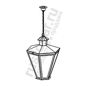 Подвесной фонарь Burren (Пушкинский) 640-01/b-50