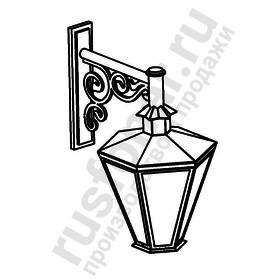 Настенный фонарь-бра Burren (Пушкинский) 640-12/b-50